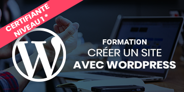 Formation WordPress niveau 1